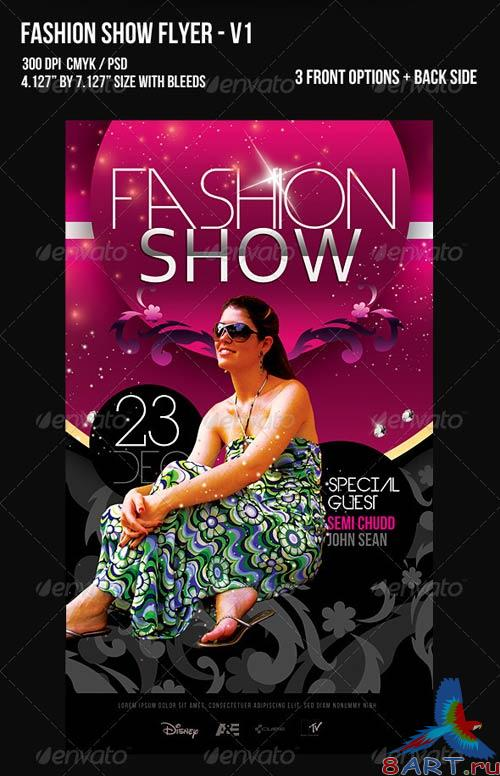 GraphicRiver Fashion Show Flyer - V1