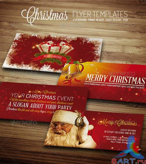 GraphicRiver Christmas III - Flyer Template