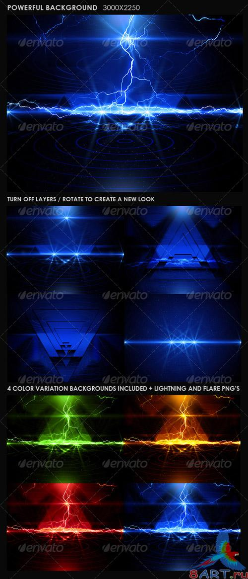GraphicRiver - Powerful Background