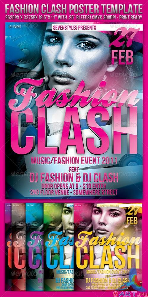 GraphicRiver Fashion Clash Template - REUPLOAD