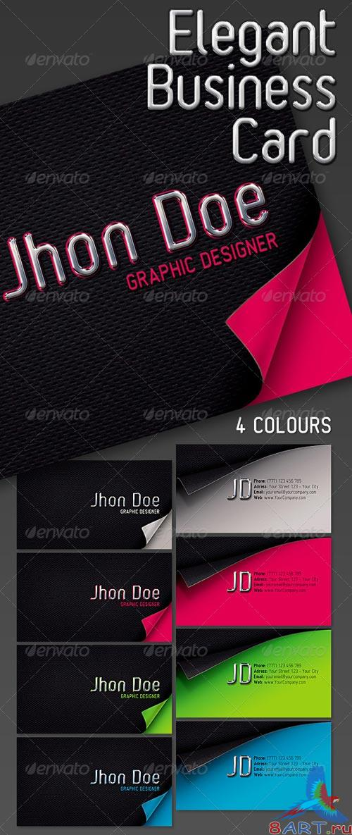 GraphicRiver Elegant Business Card