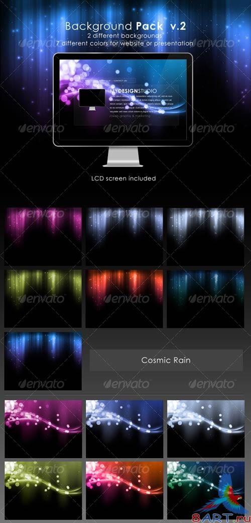GraphicRiver Website Background Pack V.2