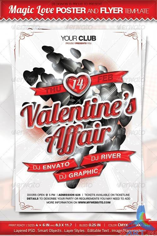 GraphicRiver Magic Love Affair