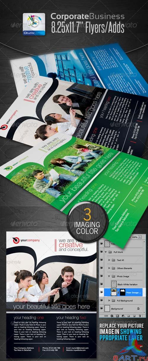 GraphicRiver Corporate Business Flyers/Ads