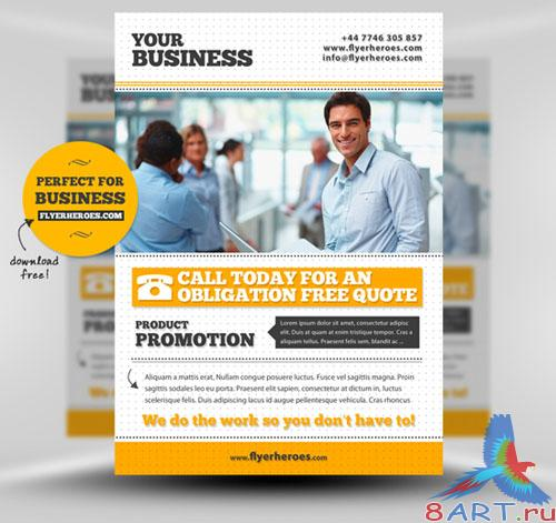 PSD Template - Business / Corporate Flyer/Poster