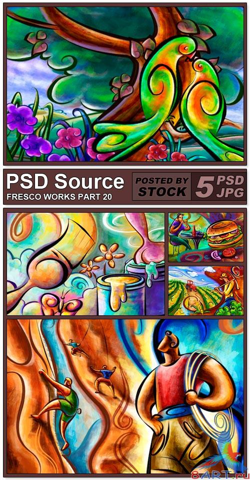 PSD Source - Fresco works 20
