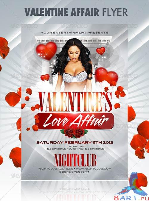 GraphicRiver Valentine Affair Party Template