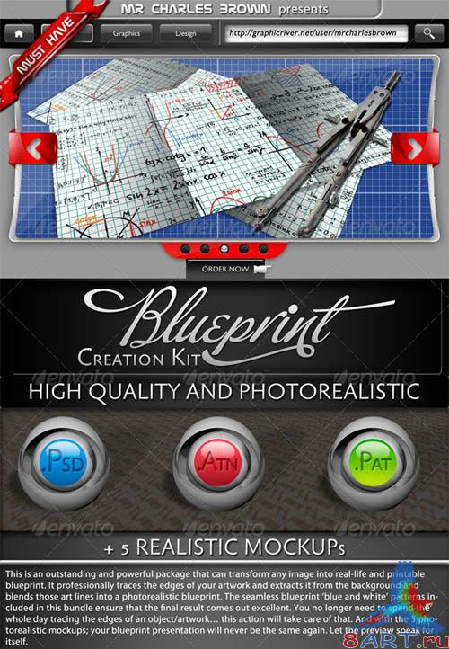 GraphicRiver Blueprint Creation Kit