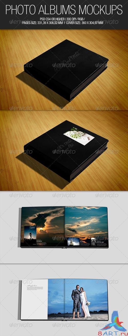 GraphicRiver Photo Albums Mockups