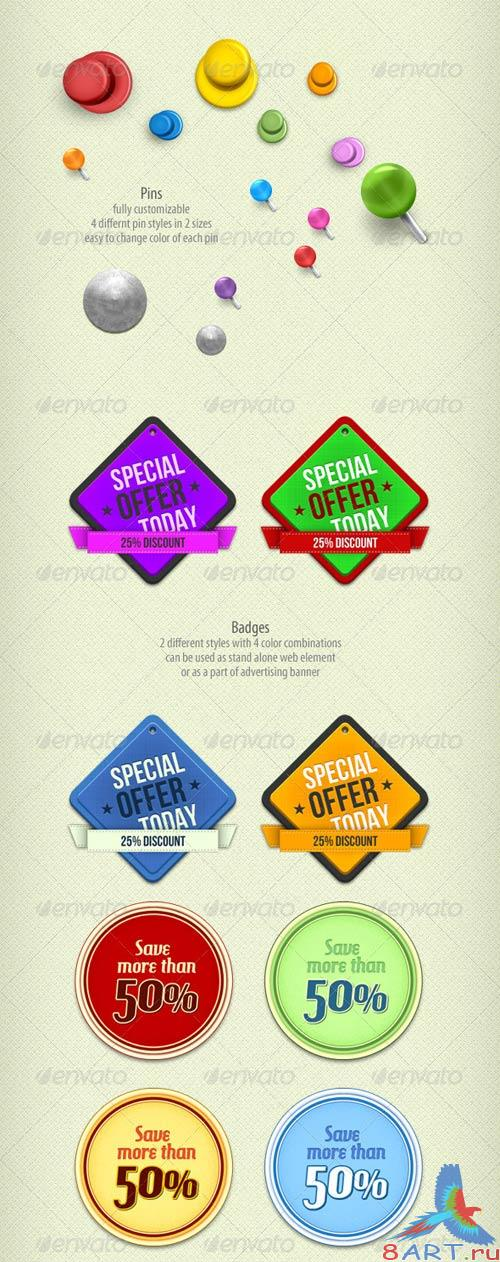 GraphicRiver Creative Banner And Web Elements