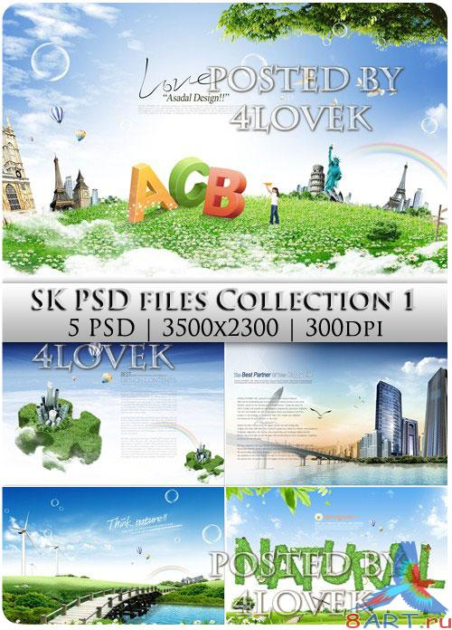 SK PSD Files Collection 1