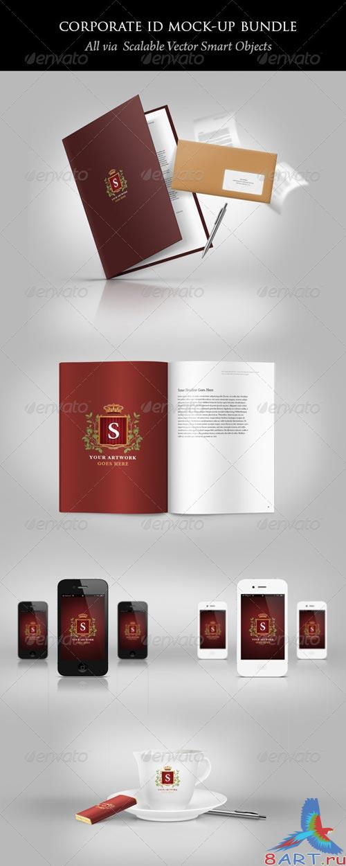 GraphicRiver Corporate ID Mock-up Bundle