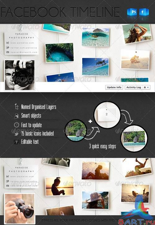 GraphicRiver Deluxe FB Timeline Cover