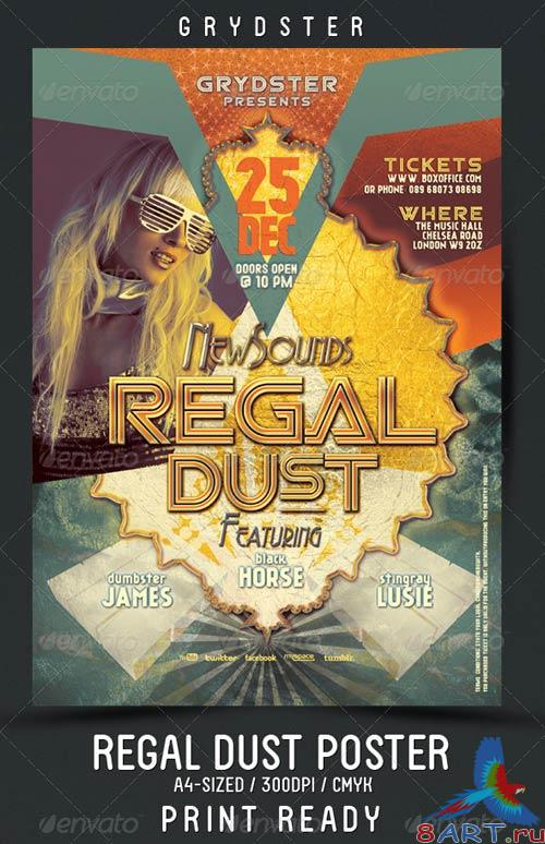 GraphicRiver Regal Dust Flyer - Poster