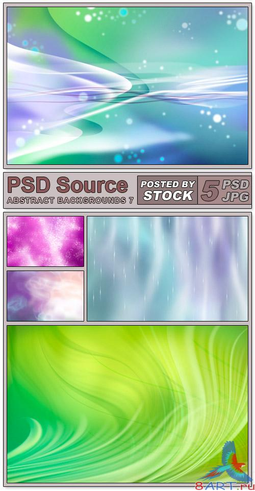 Layered PSD Files - Abstract backgrounds 7