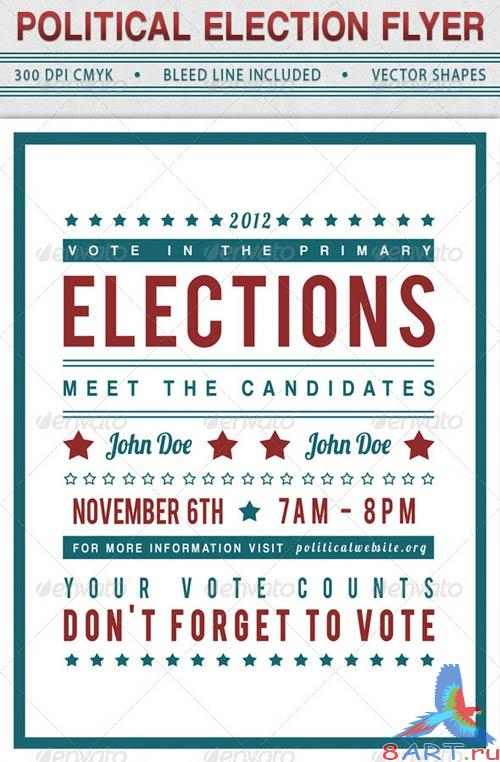 GraphicRiver Political Election Flyer