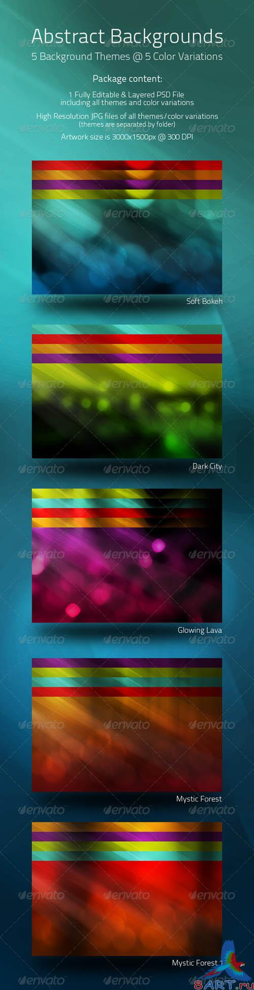 Abstract Backgrounds - GraphicRiver
