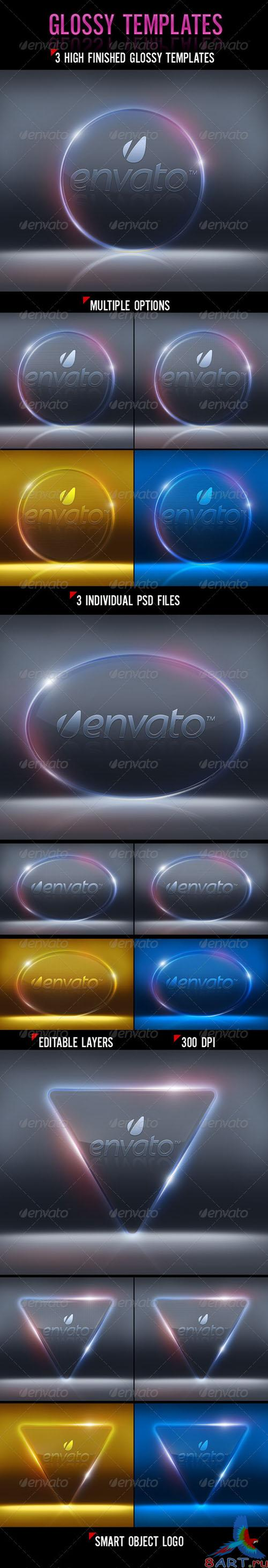 GraphicRiver - Glossy Templates 2727669