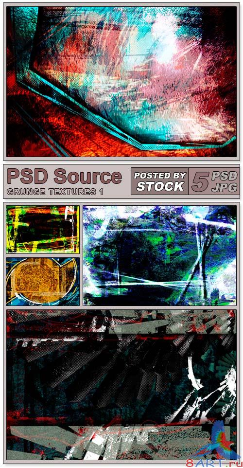 PSD Source - Grunge Textures (PART 1)
