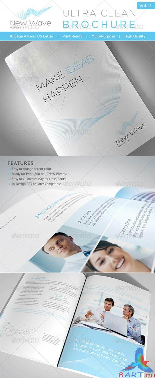 GraphicRiver Ultra Clean Brochure Vol. 2