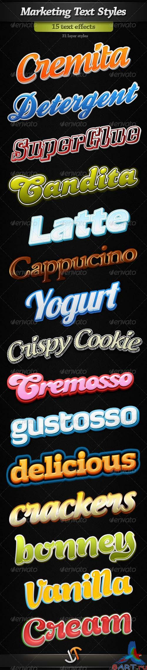GraphicRiver Marketinng Text Styles - REUPLOAD