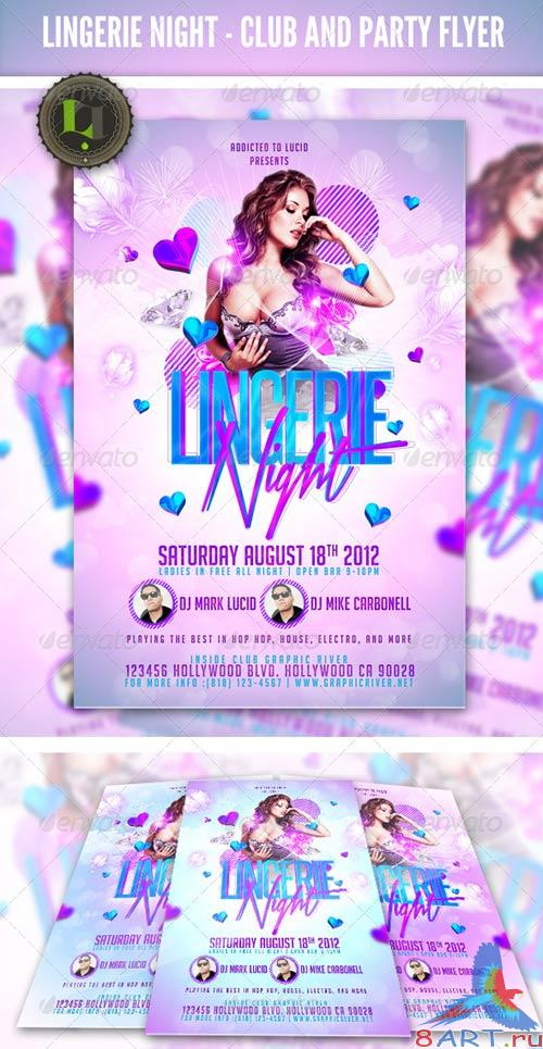 GraphicRiver Ladies Night Party - Club Flyer Template