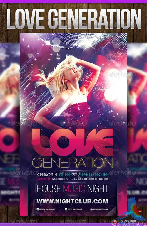 GraphicRiver Love Generation
