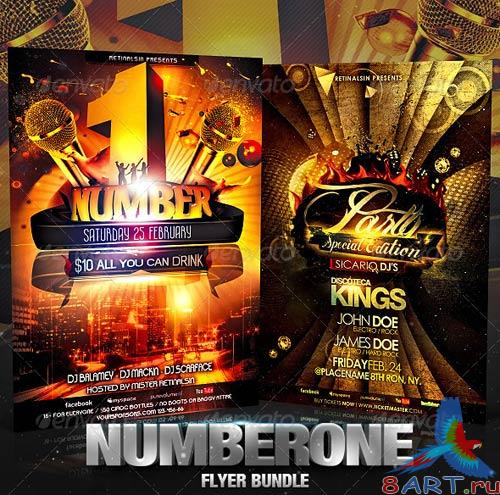 GraphicRiver NumberOne Flyer Bundle
