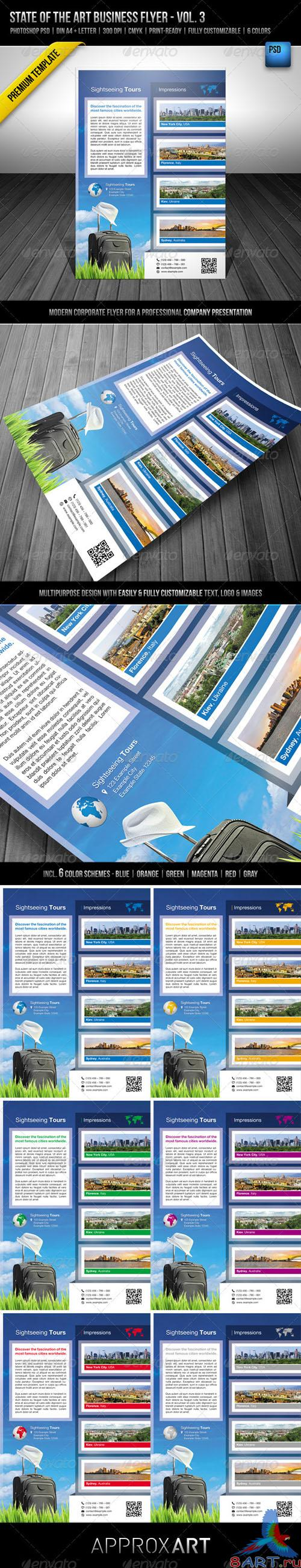 GraphicRiver - State of the Art Business Flyer - Vol 3 - 2714277