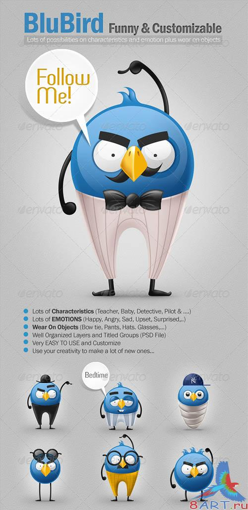 GraphicRiver BluBird