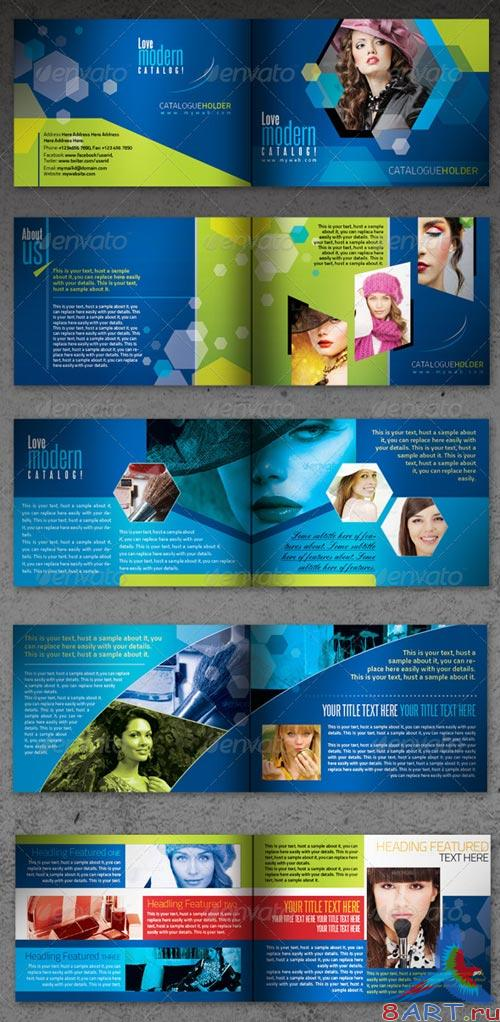 GraphicRiver Corporate InDesign Modern Booklet/Catalog 16pages