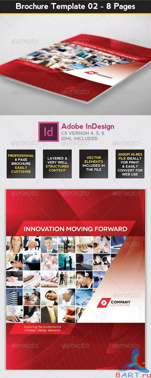 GraphicRiver Brochure Template - InDesign 8 Page Layout 02