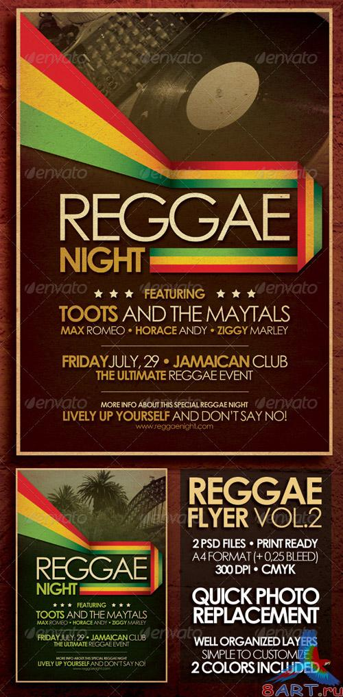 Reggae Flyer Poster Vol.2 [GraphicRiver]