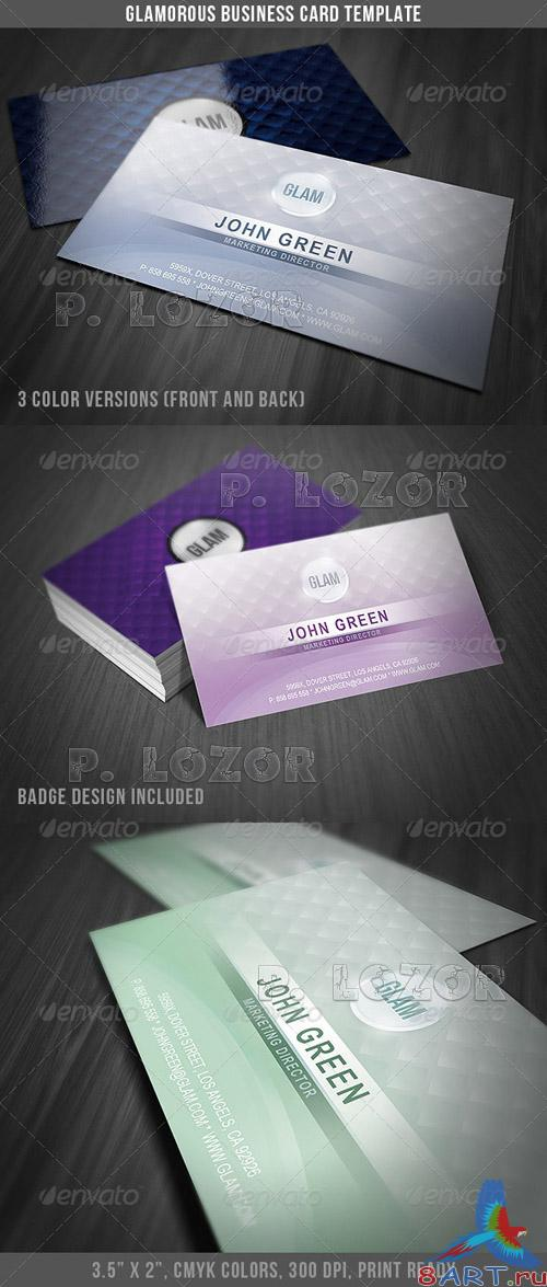 Graphicriver Glamorous Business Card Template