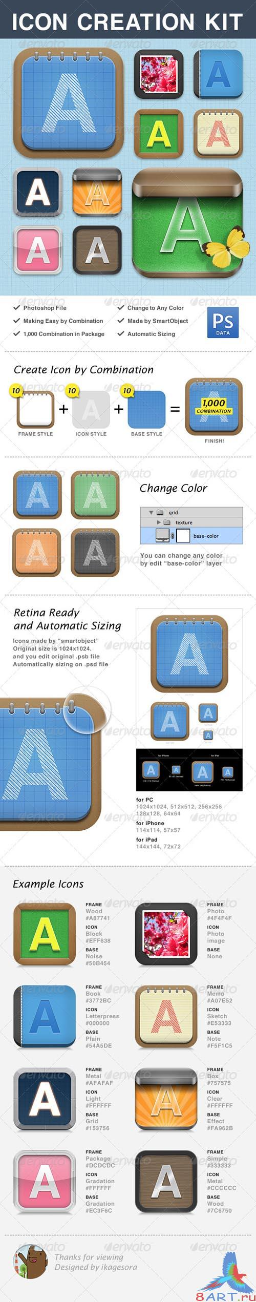 GraphicRiver Icon Creation Kit