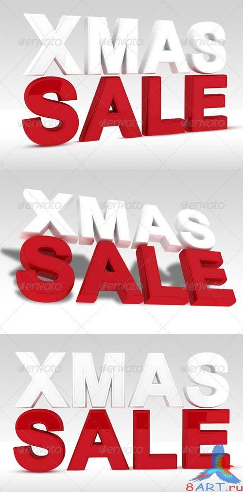 GraphicRiver Christmas Sale - Xmas Sale