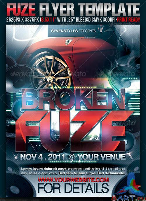 GraphicRiver Fuze Flyer Template - REUPLOAD