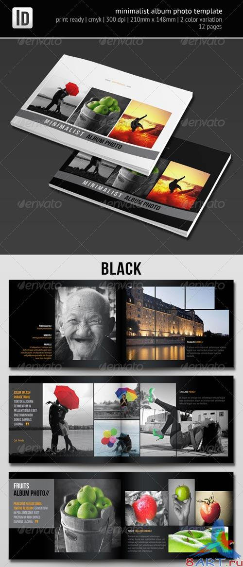 GraphicRiver Minimalist Album Photo Template