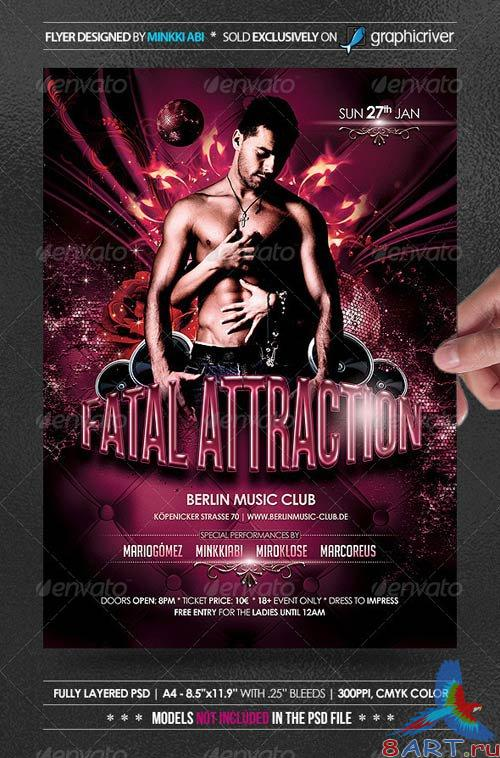 GraphicRiver Fatal Attraction Poster/Flyer