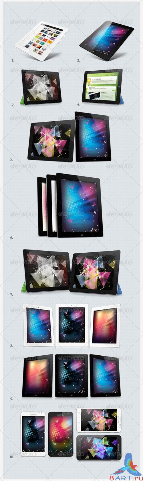 GraphicRiver Tabletisimo - Tablets Mock-up Showcaser