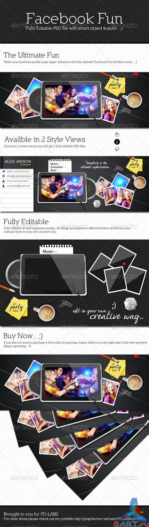 GraphicRiver Facebook Fun