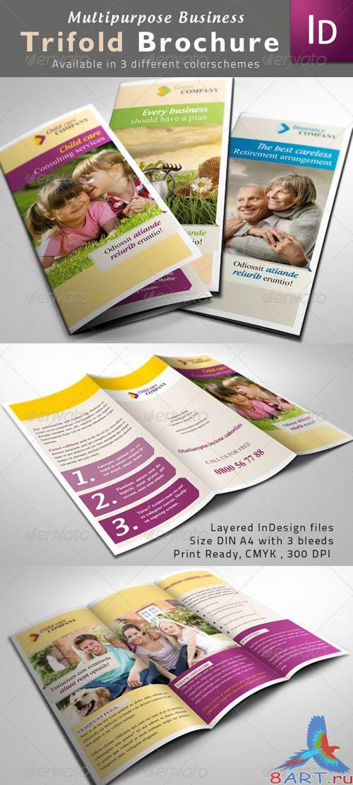 GraphicRiver Multipurpose Trifold Brochures