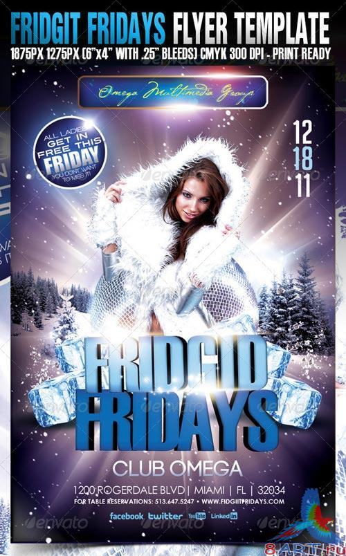 GraphicRiver Fridget Fridays