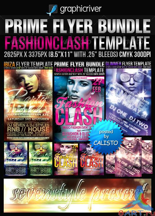 GraphicRiver - Prime Flyer Bundle