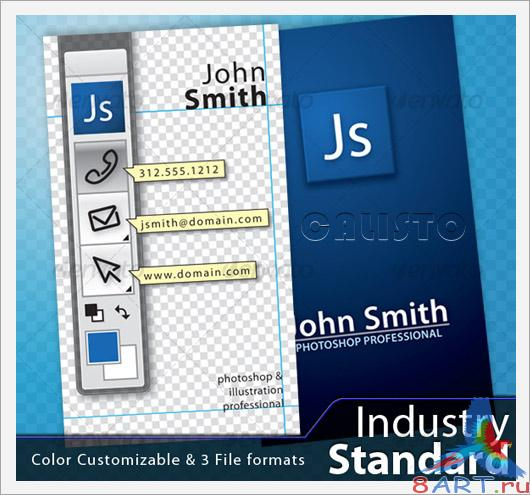 Industry Standard Business Card - GraphicRiver