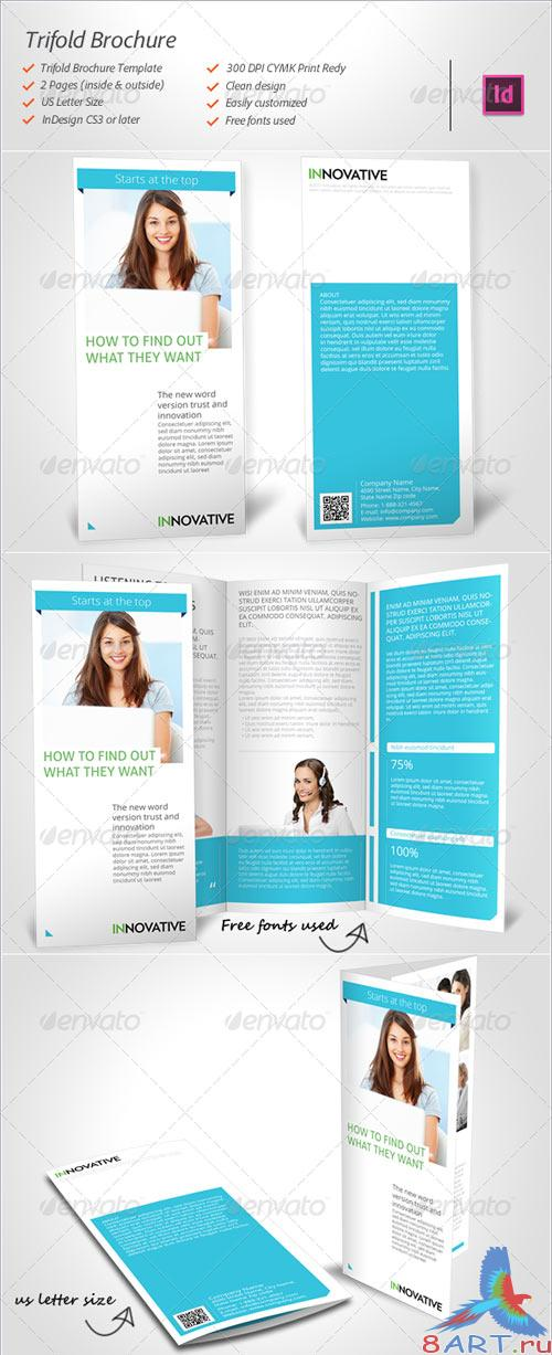 GraphicRiver Trifold Brochure