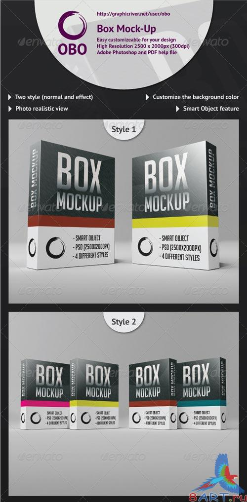 GraphicRiver Box Mock-Up