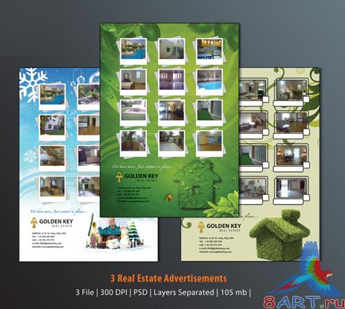 PSD Adv. Templates - Real Estate