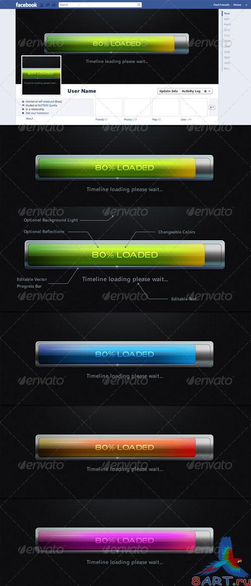 GraphicRiver Facebook Timeline Cover - Loading