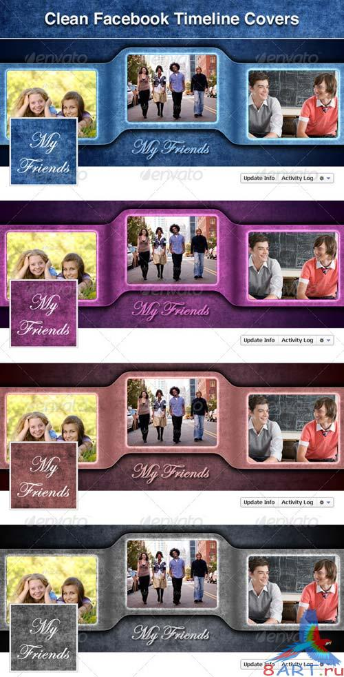 GraphicRiver Facebook Timeline Cover - My Friends
